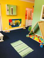 Our newly painted Baby Room