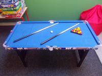 Pool table for older children