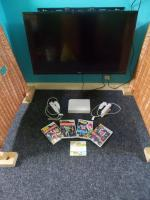 Nintendo Wii with Wii Sports & Just Dance