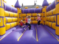 We often have a bouncy castle in our grounds
