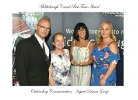 Middlesbrough Council Best Team Award Winners for 'Outstanding Communication'